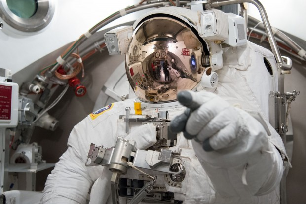 Image of astronaut in spacesuit.