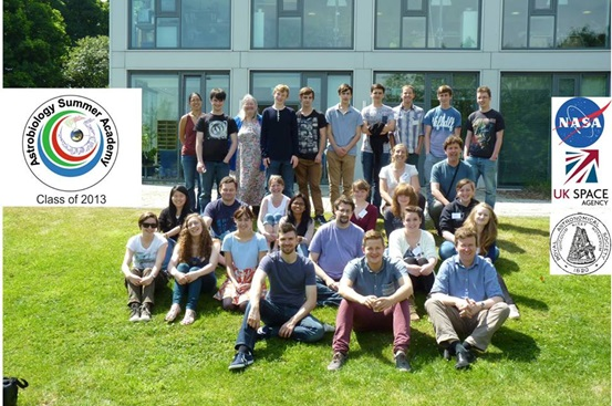 Image of students at the Astrobiology Summer Academy