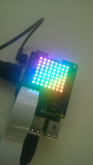 Astro Pi prototype board