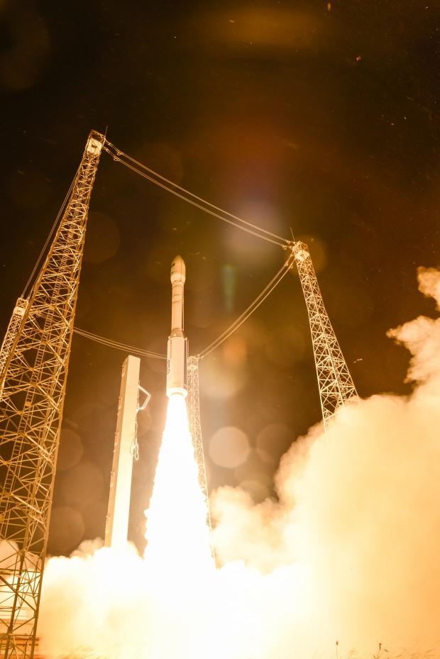 Liftoff of Vega  Copyright ESA–M. Pedoussaut, 2015