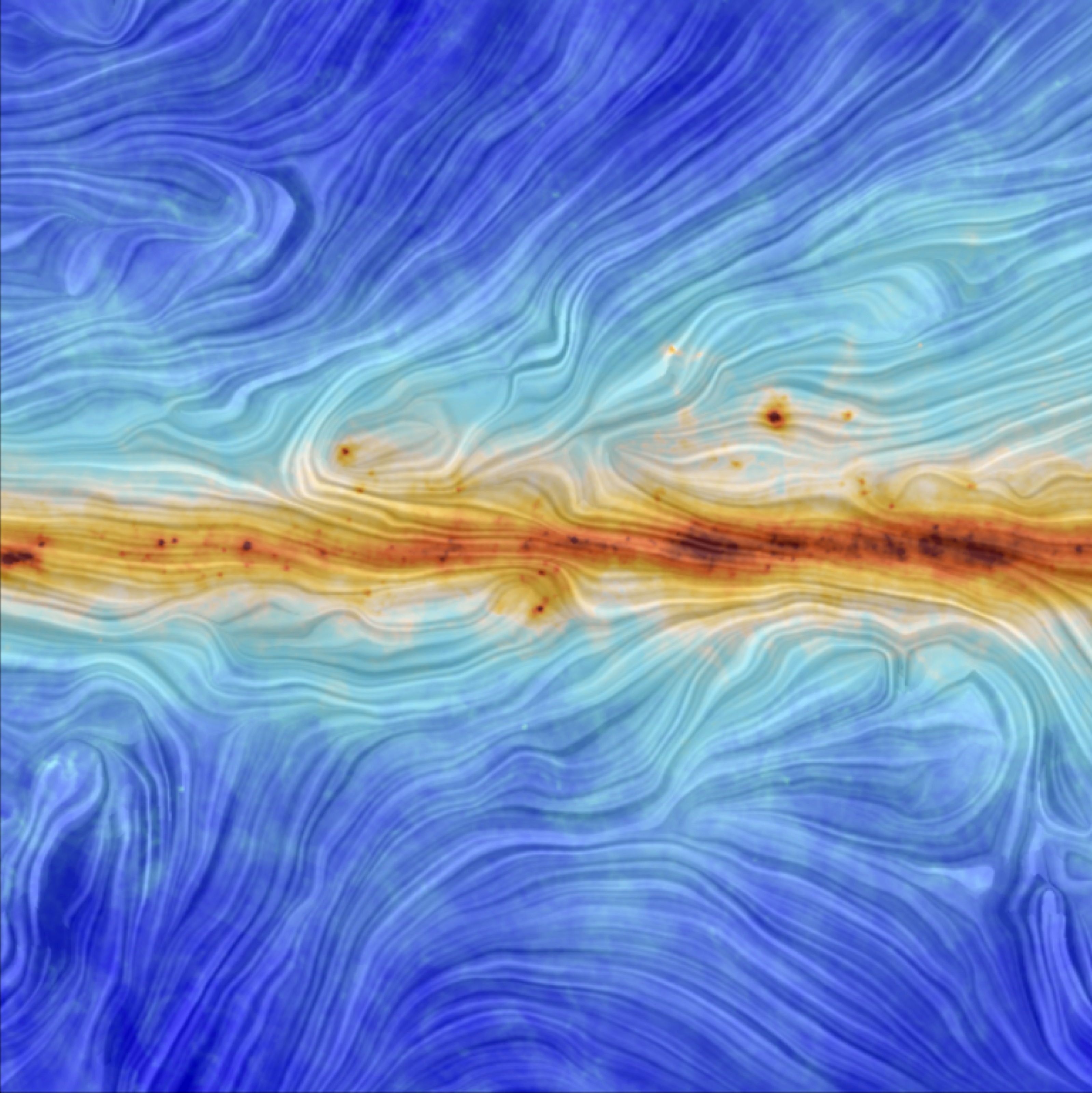 Our Galaxy's Magnetic Field: image of the week