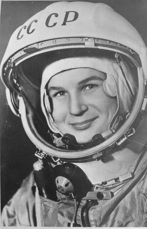 Valentina Tereshkova, 1962 (Credit: Roscosmos)