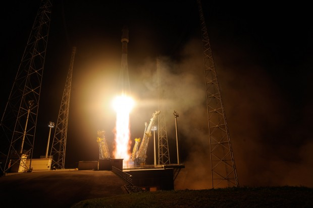 Launche in Europe's space port of VS12