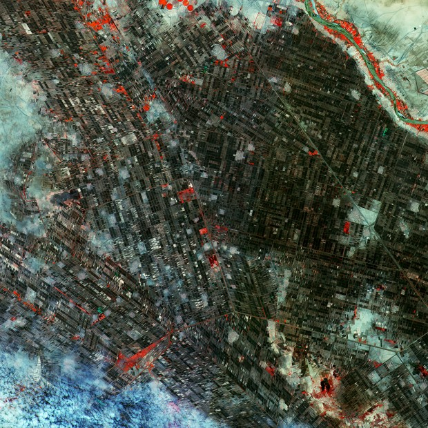 The capital of Sudan, as captured by Sentinel-2A. Credit: Copernicus Sentinel data (2015)/ESA