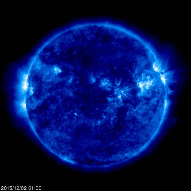 Latest image from SOHO.  Credit ESA/NASA
