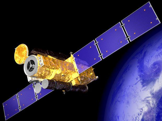 hinode_solar-b_will_study_the_sun_from_a_polar_orbit_around_earth