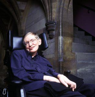 Stephen Hawking Portrait