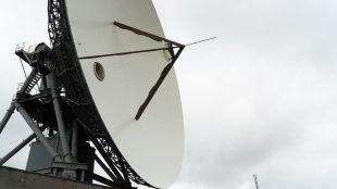Goonhilly ground satellite