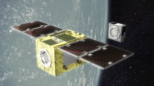 Astroscale's ELSA-d mission. Credit: Astroscale